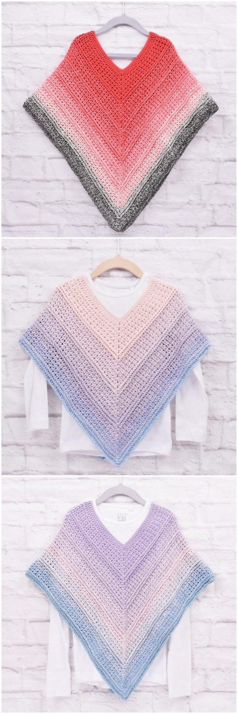 Crochet Poncho Pattern (44)