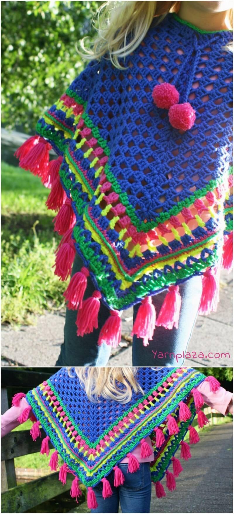 Crochet Poncho Pattern (46)