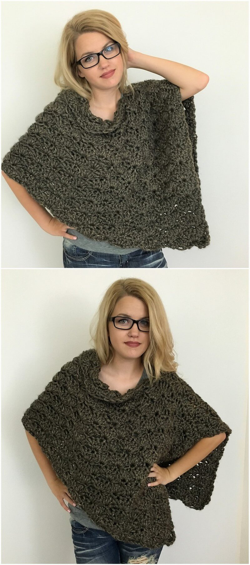 Crochet Poncho Pattern (5)