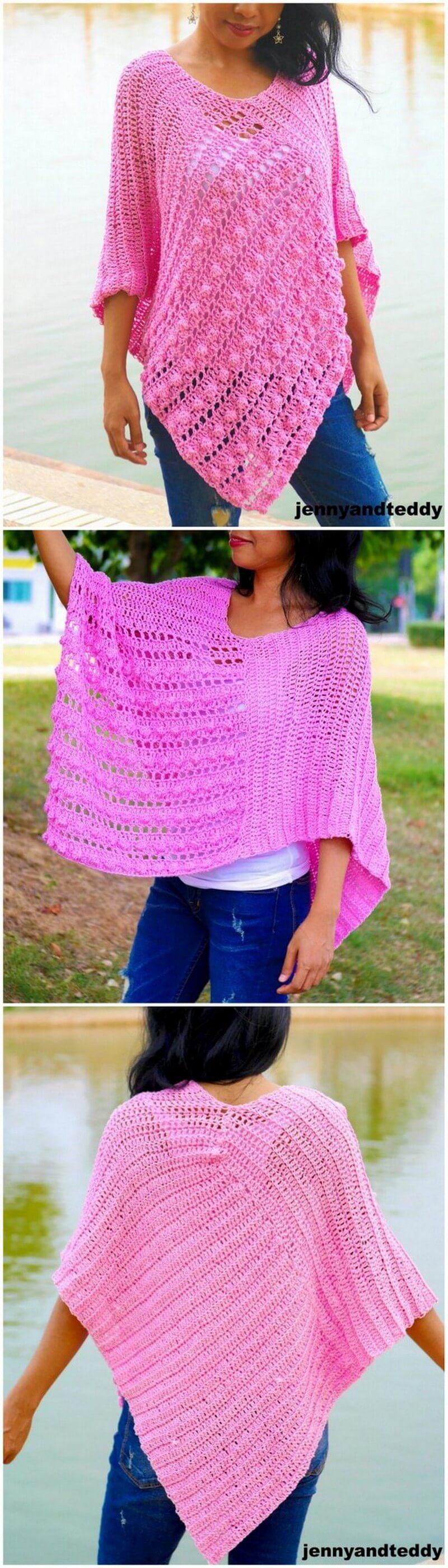 Crochet Poncho Pattern (50)