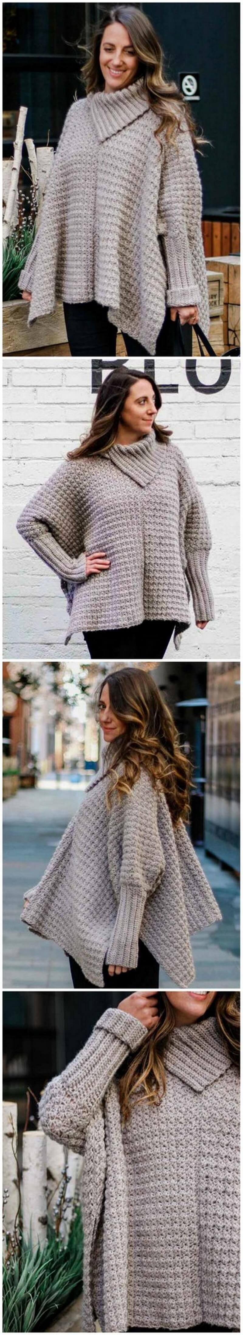 Crochet Poncho Pattern (58)