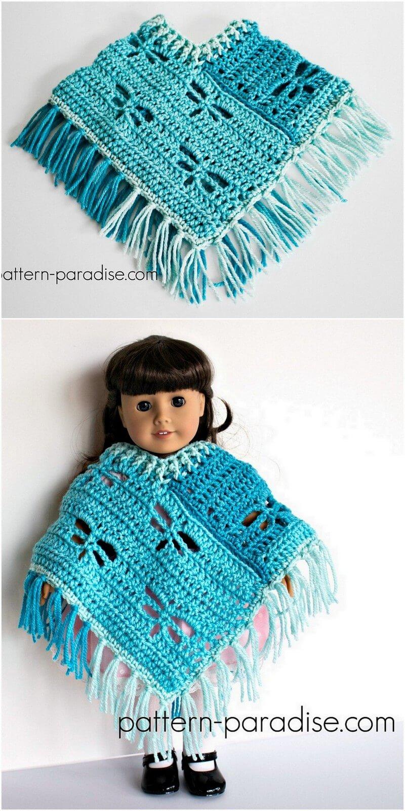 Crochet Poncho Pattern (7)