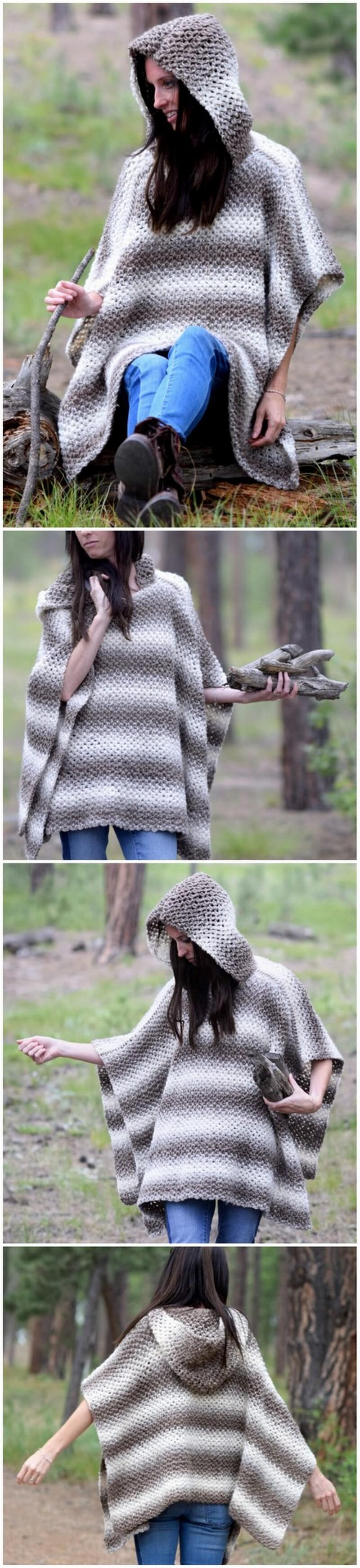 Crochet Poncho Pattern (9)