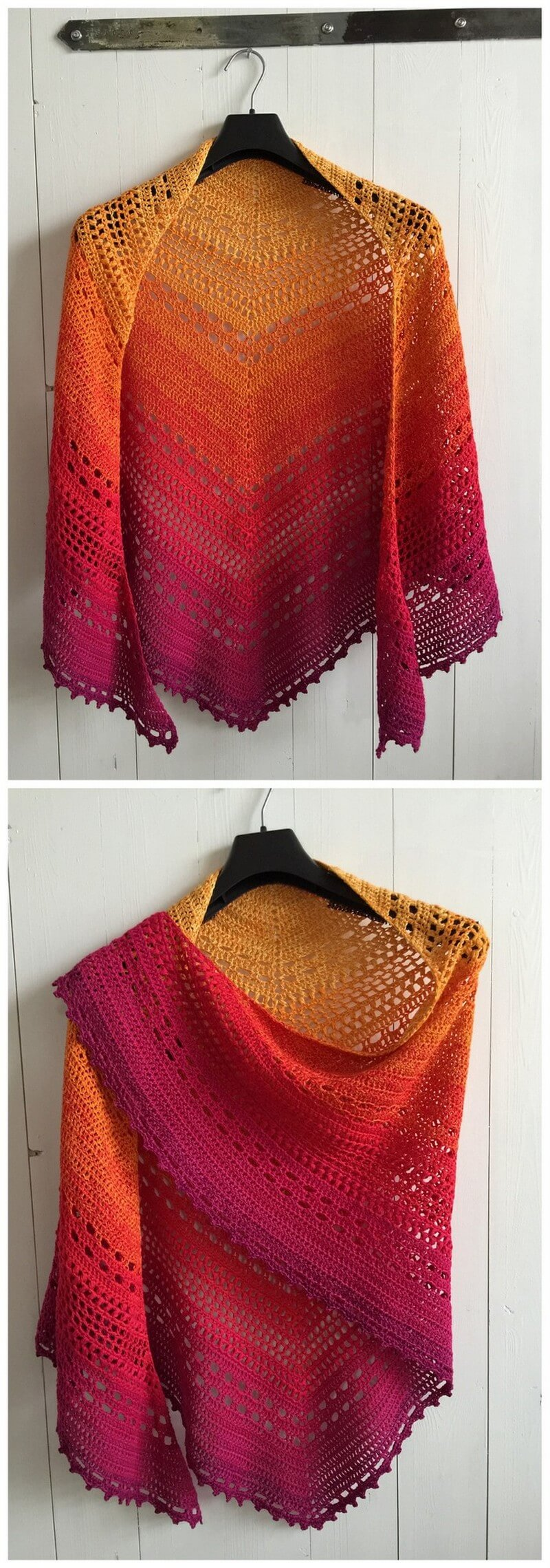 Crochet Shawl Pattern (1)