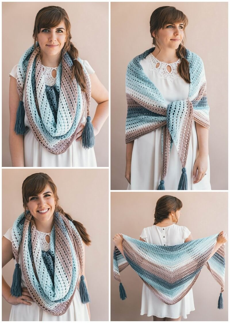 Crochet Shawl Pattern (10)