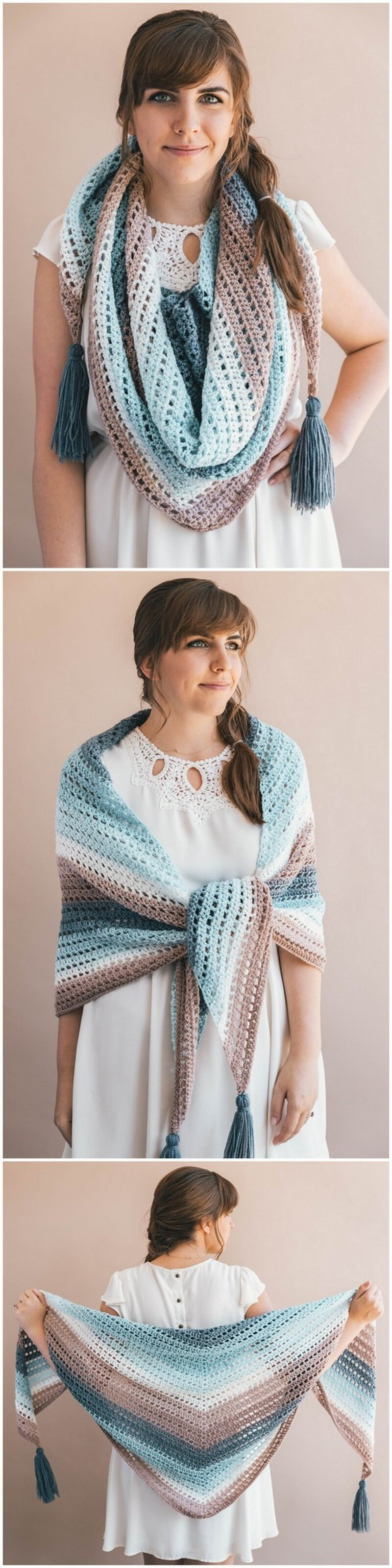 Crochet Shawl Pattern (11)