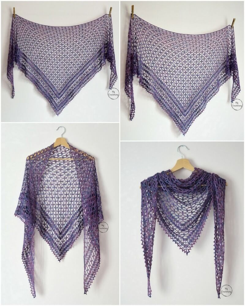 Crochet Shawl Pattern (12)