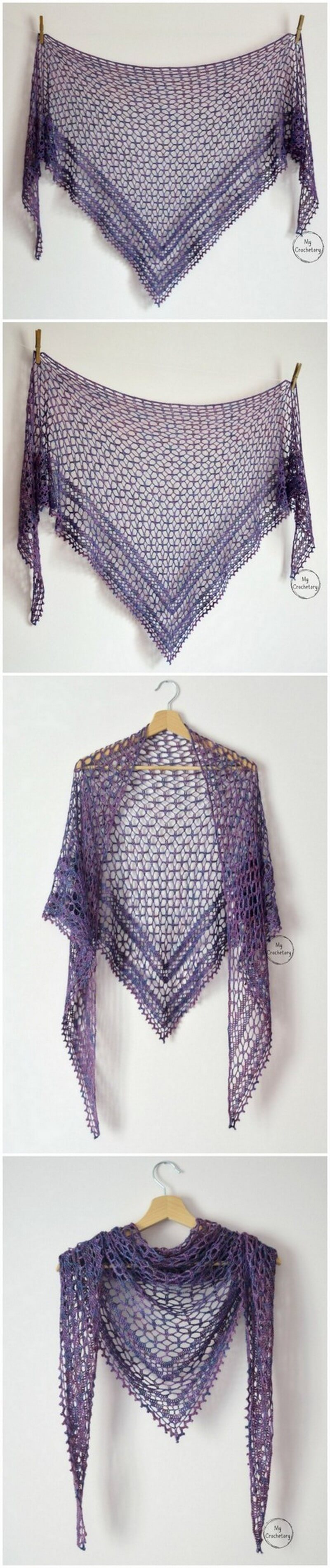 Crochet Shawl Pattern (13)