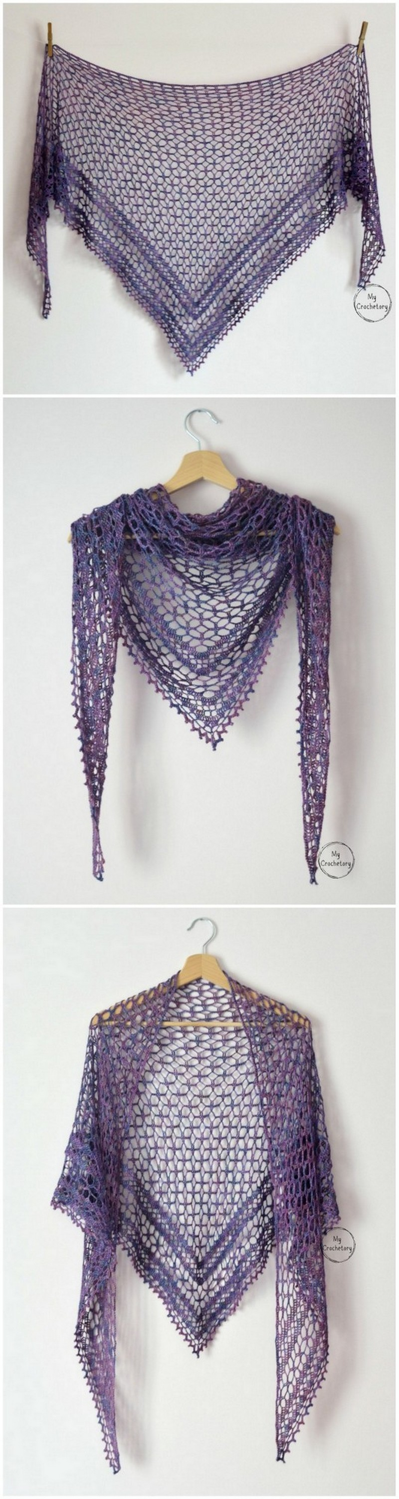 Crochet Shawl Pattern (14)