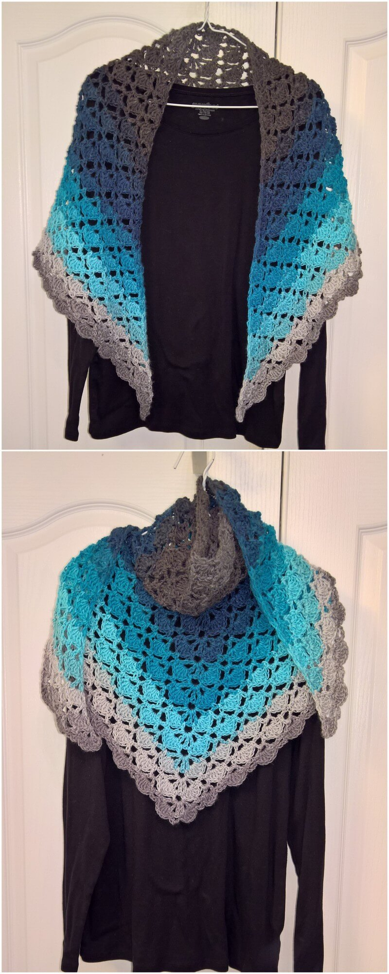 Crochet Shawl Pattern (15)