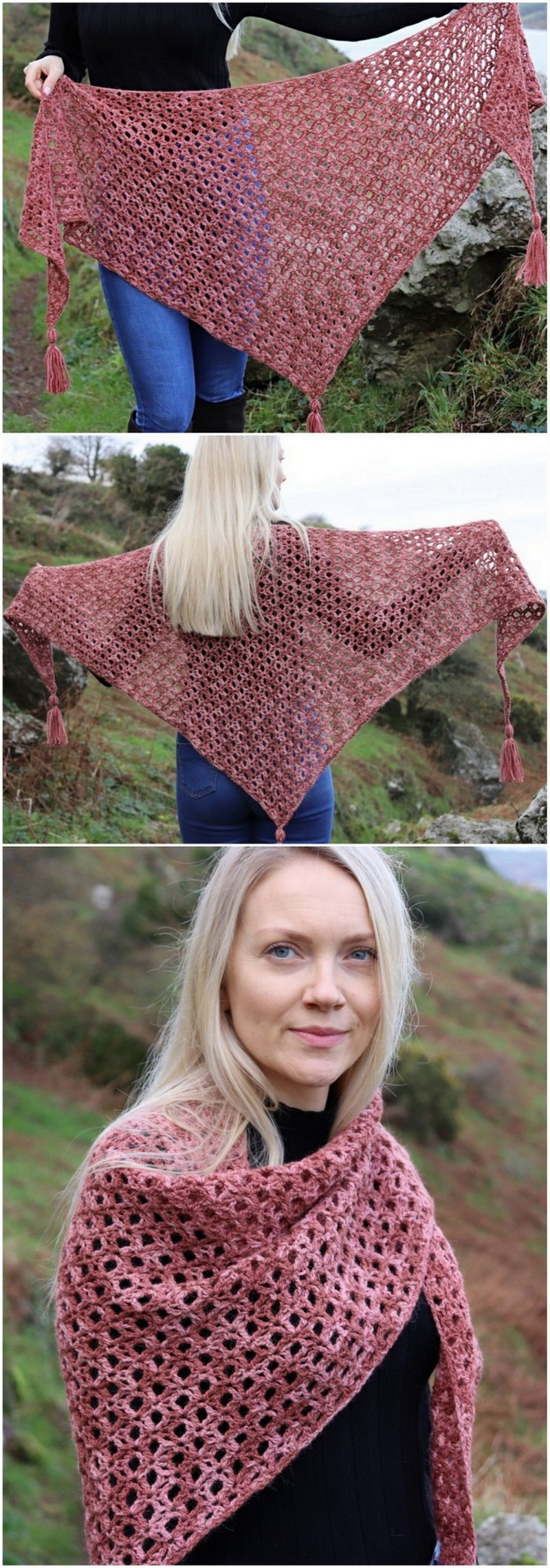 Crochet Shawl Pattern (16)