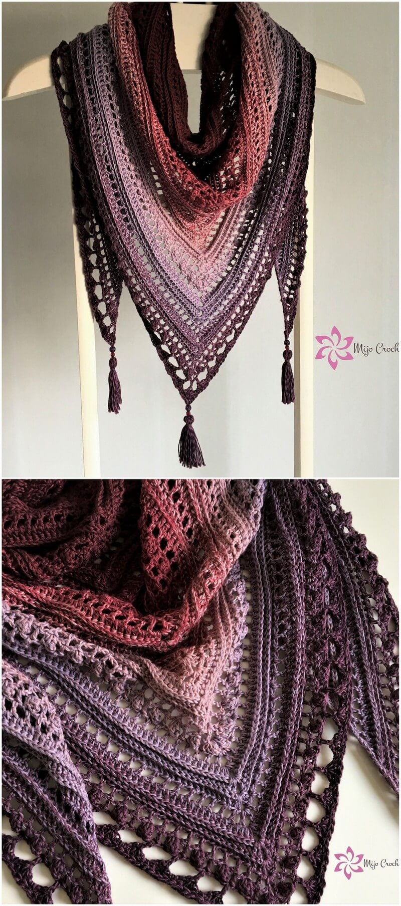 Crochet Shawl Pattern (2)