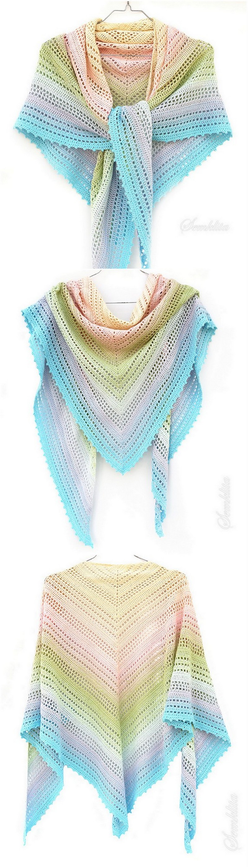 Crochet Shawl Pattern (20)