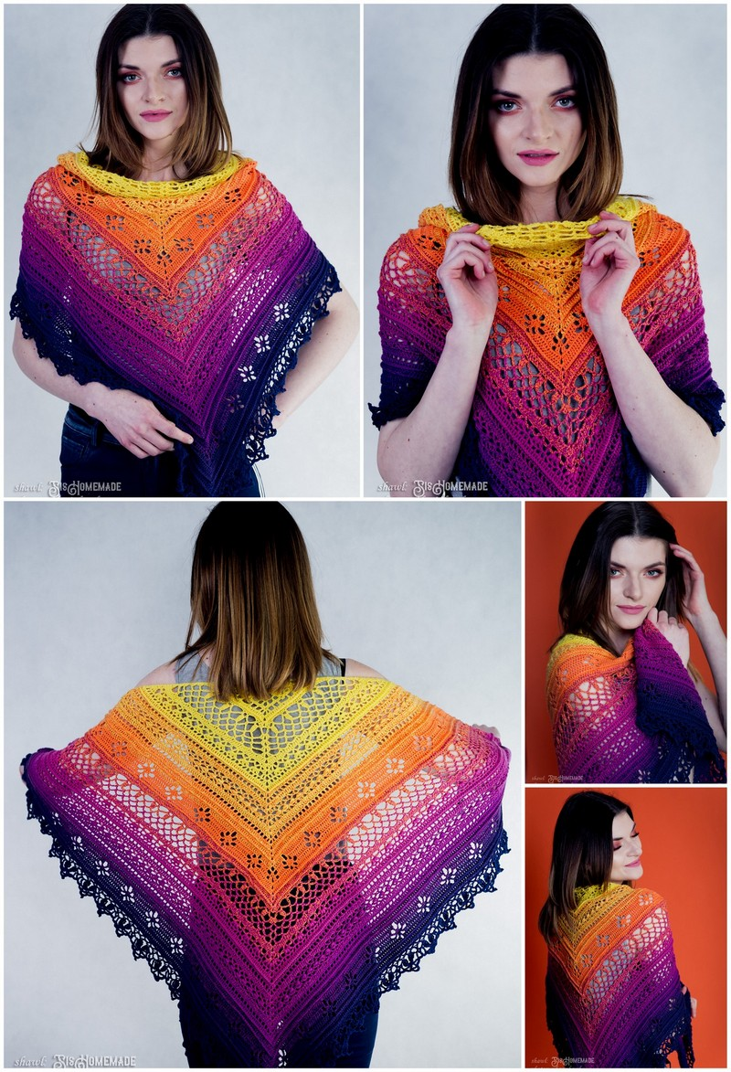 Crochet Shawl Pattern (21)