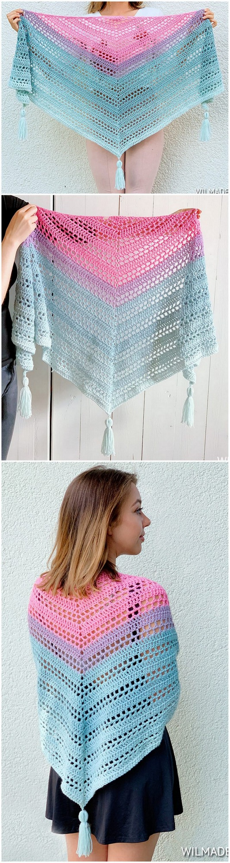 Crochet Shawl Pattern (24)
