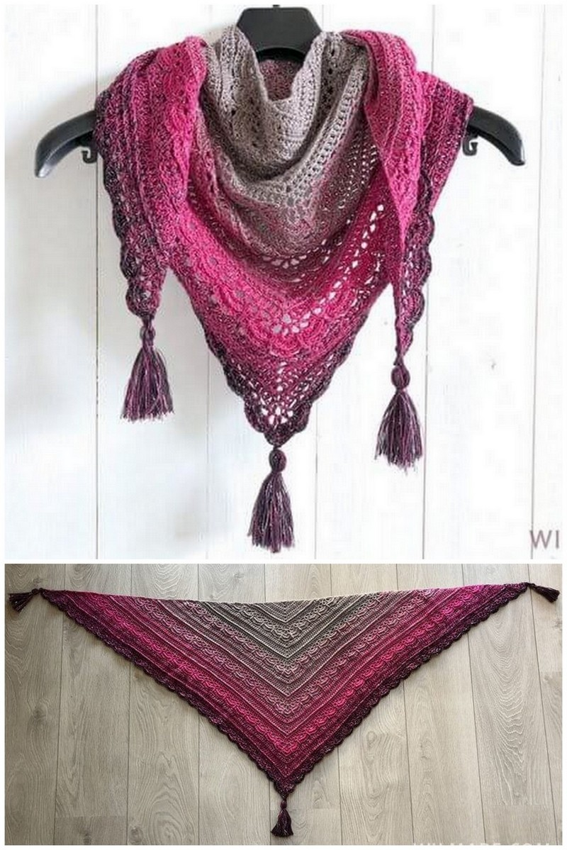 Crochet Shawl Pattern (26)