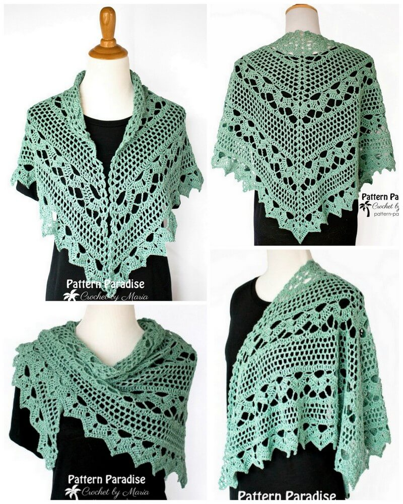 Crochet Shawl Pattern (3)