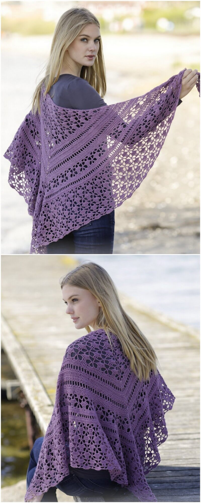 Crochet Shawl Pattern (30)