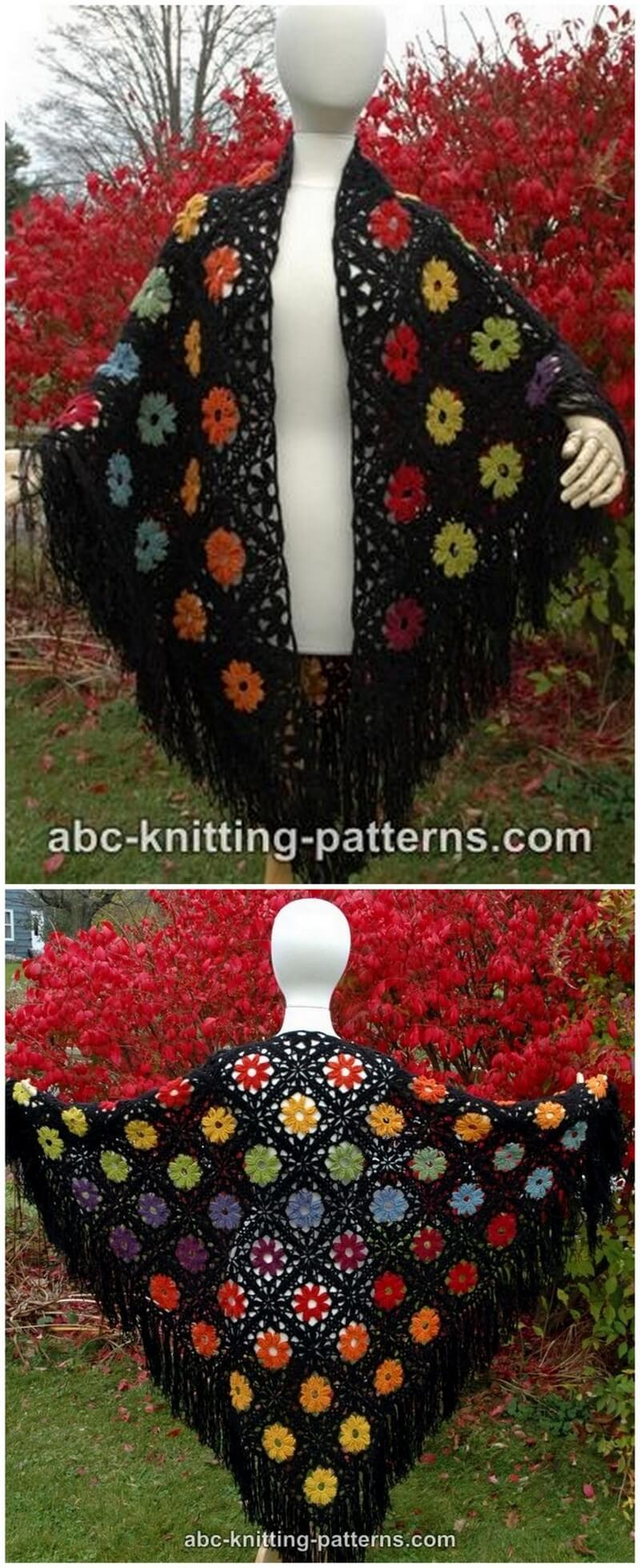 Crochet Shawl Pattern (31)