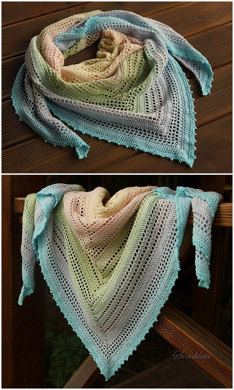 Crochet Shawl Pattern (32)