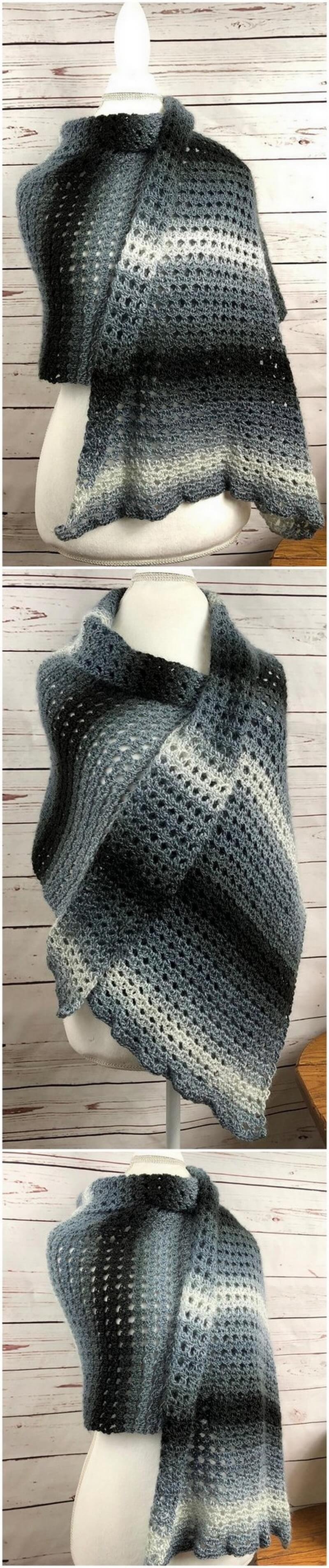 Crochet Shawl Pattern (33)