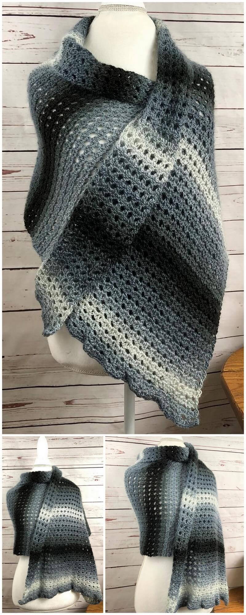 Crochet Shawl Pattern (34)