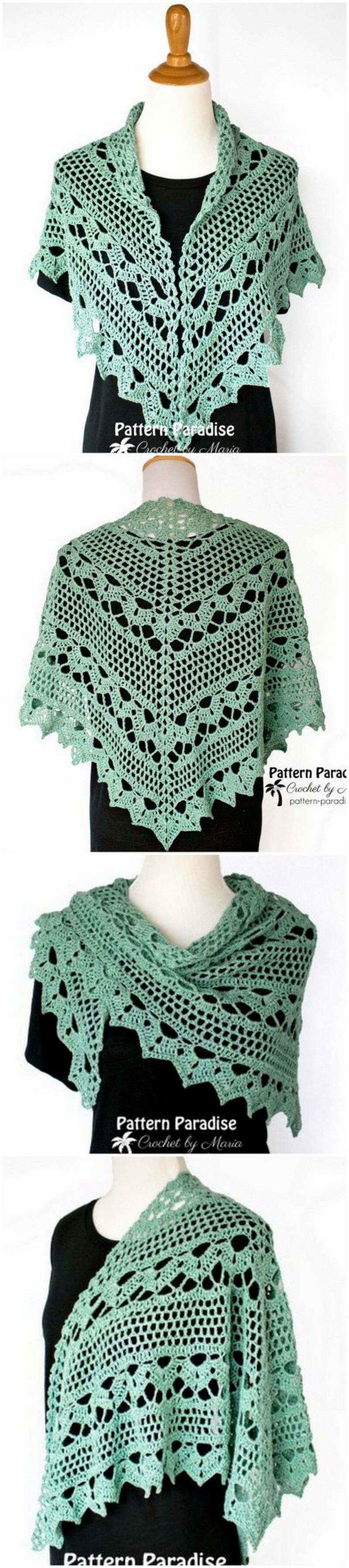 Crochet Shawl Pattern (4)