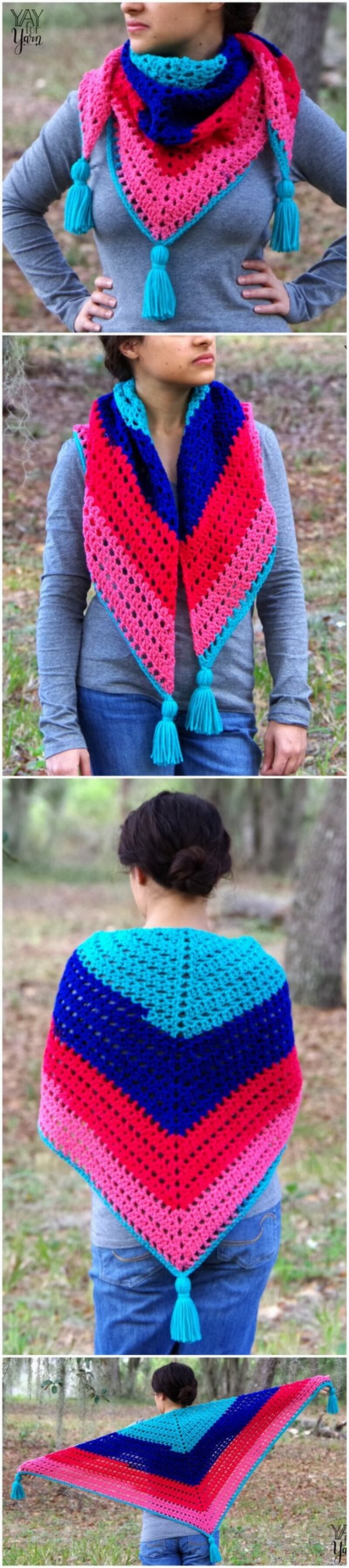 Crochet Shawl Pattern (40)