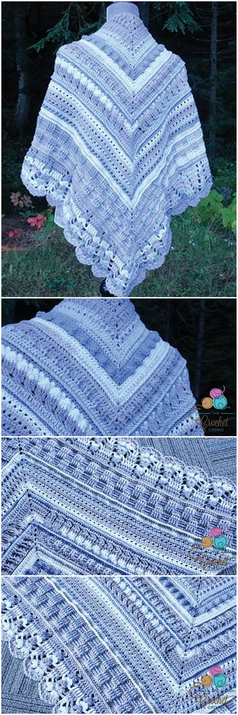 Crochet Shawl Pattern (44)