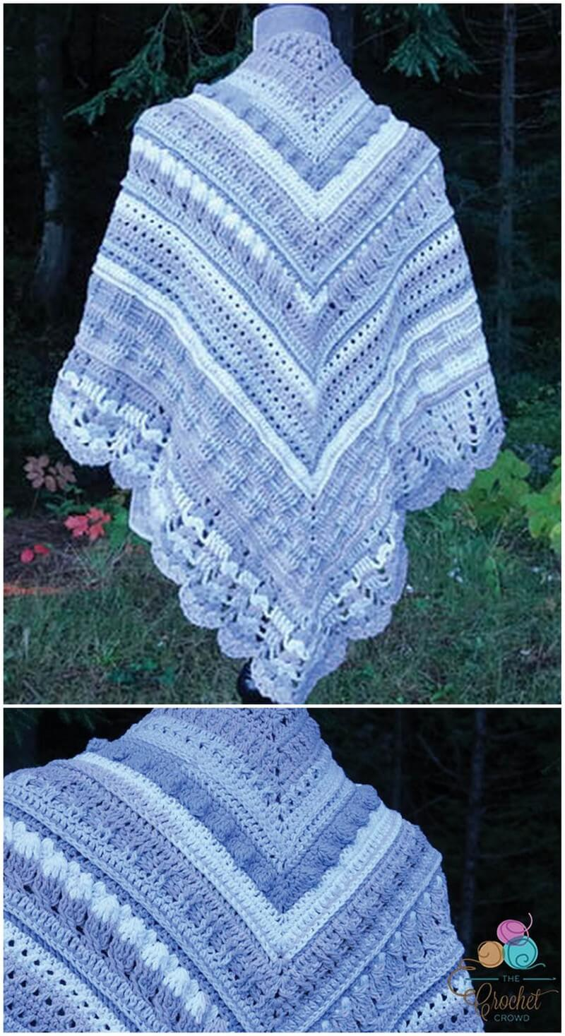 Crochet Shawl Pattern (45)
