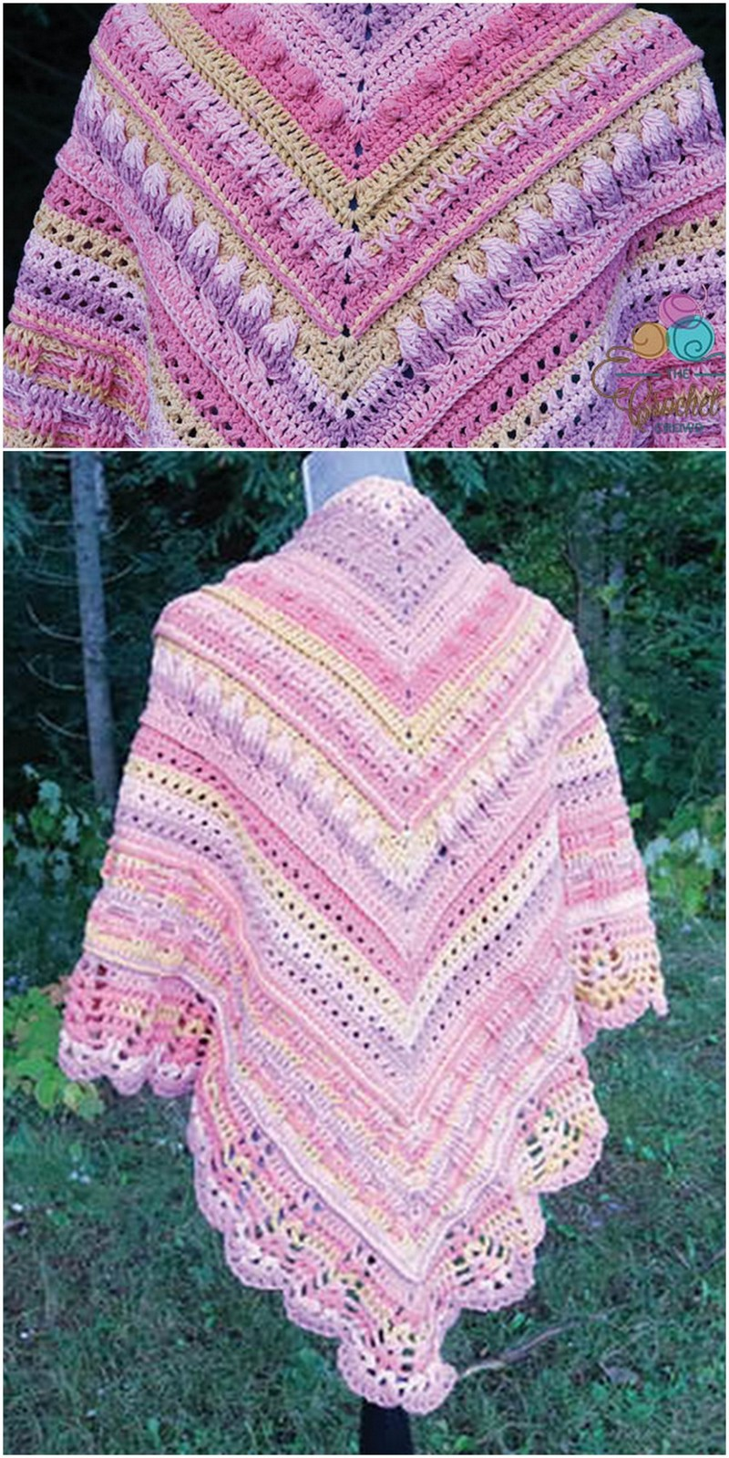 Crochet Shawl Pattern (46)