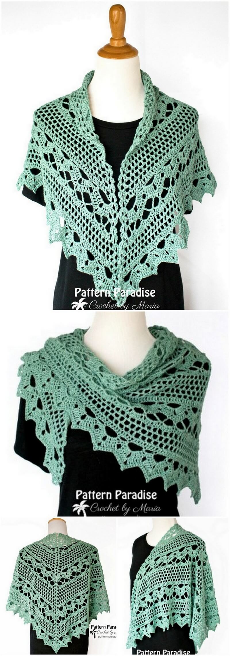 Crochet Shawl Pattern (5)