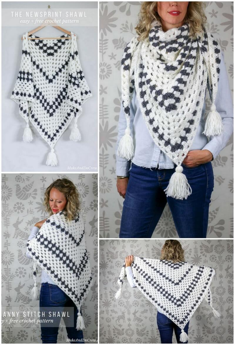 Crochet Shawl Pattern (56)