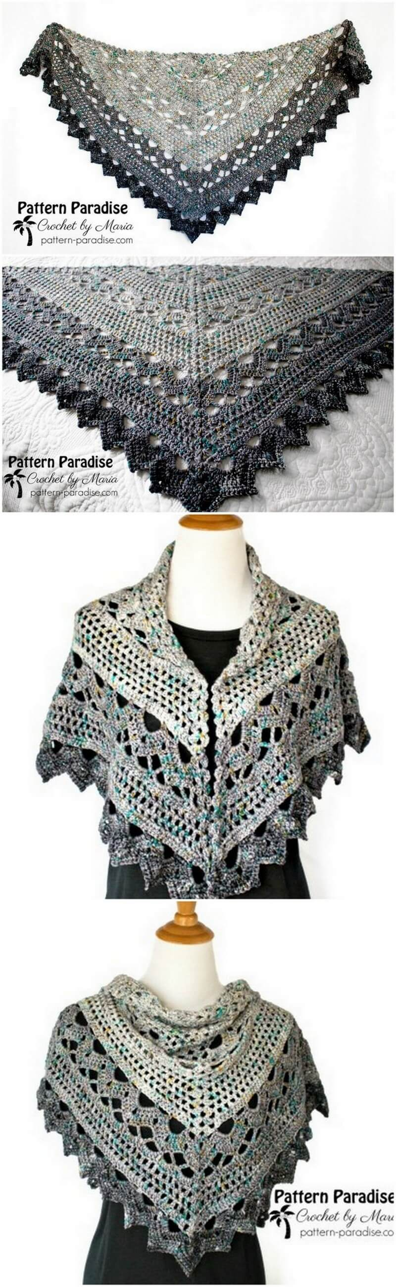 Crochet Shawl Pattern (6)