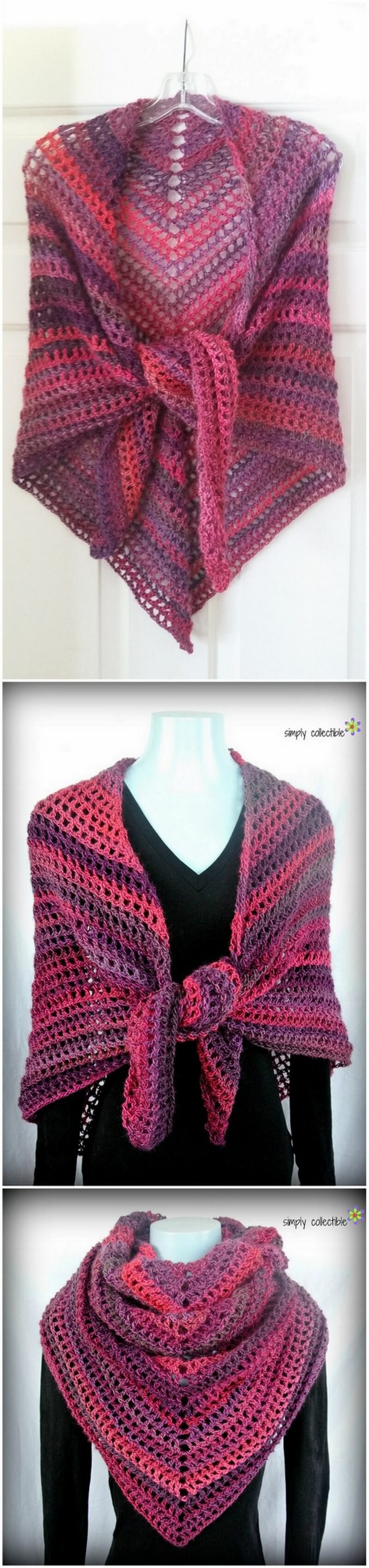 Crochet Shawl Pattern (60)