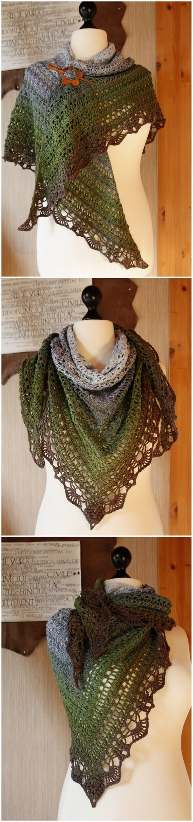 Crochet Shawl Pattern (63)