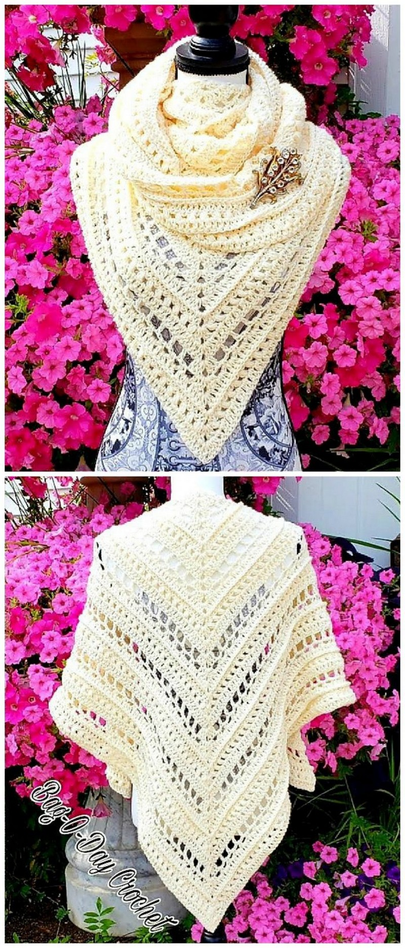 Crochet Shawl Pattern (67)