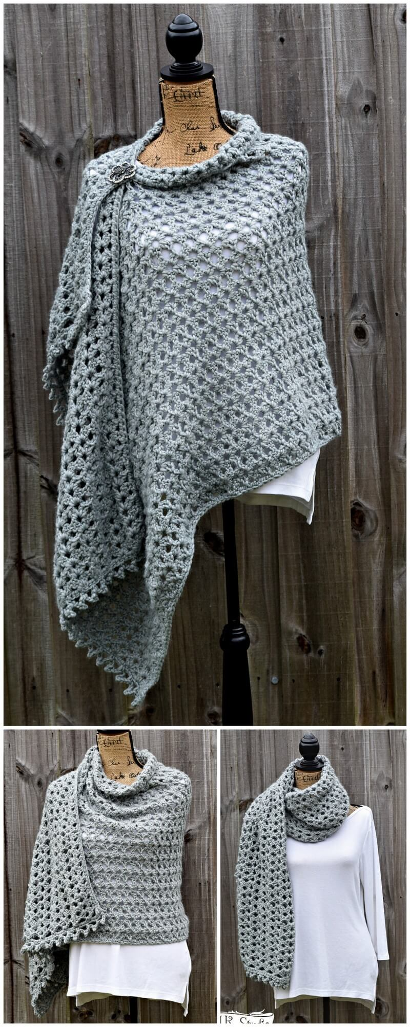 Crochet Shawl Pattern (9)