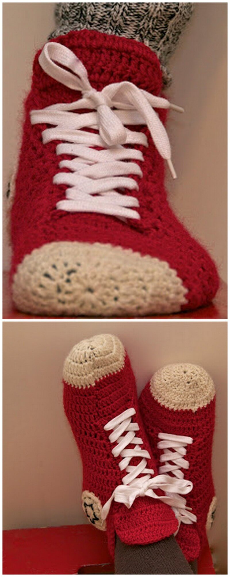 Crochet Slipper Pattern (12)