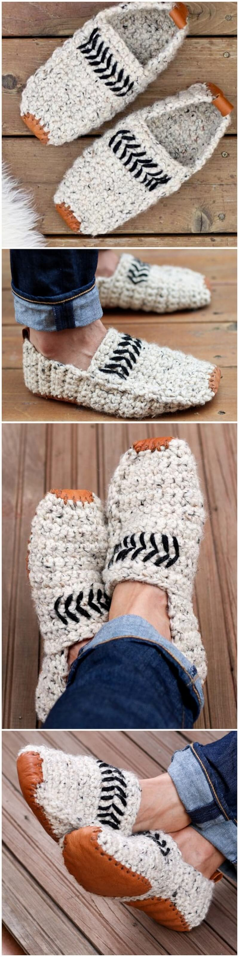 Crochet Slipper Pattern (14)