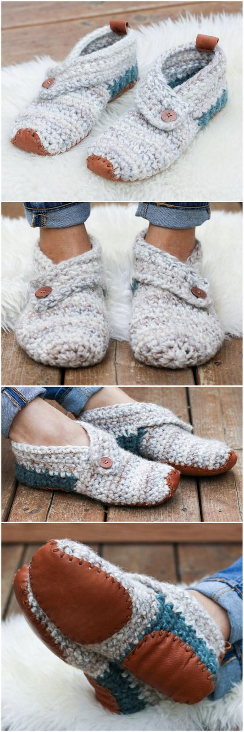 Crochet Slipper Pattern (15)