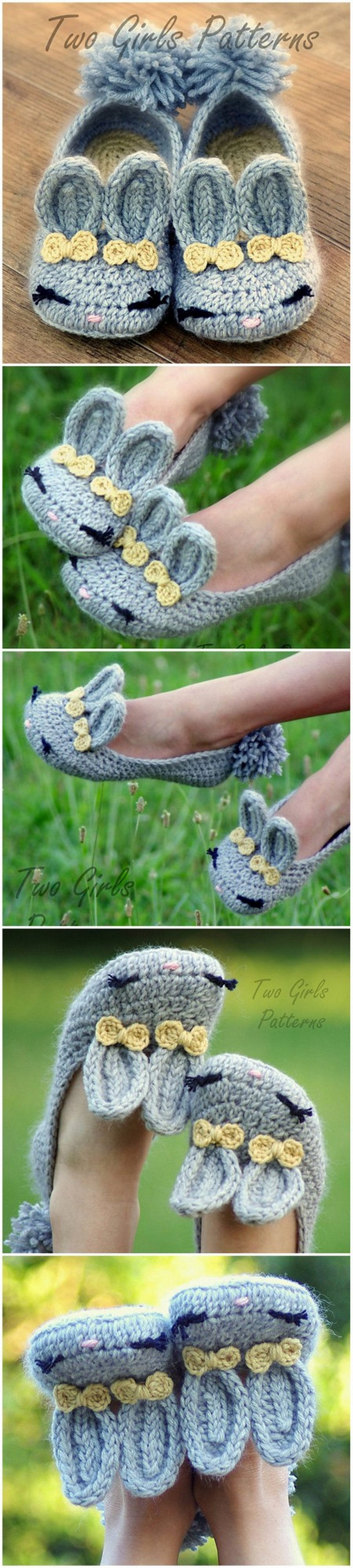 Crochet Slipper Pattern (23)
