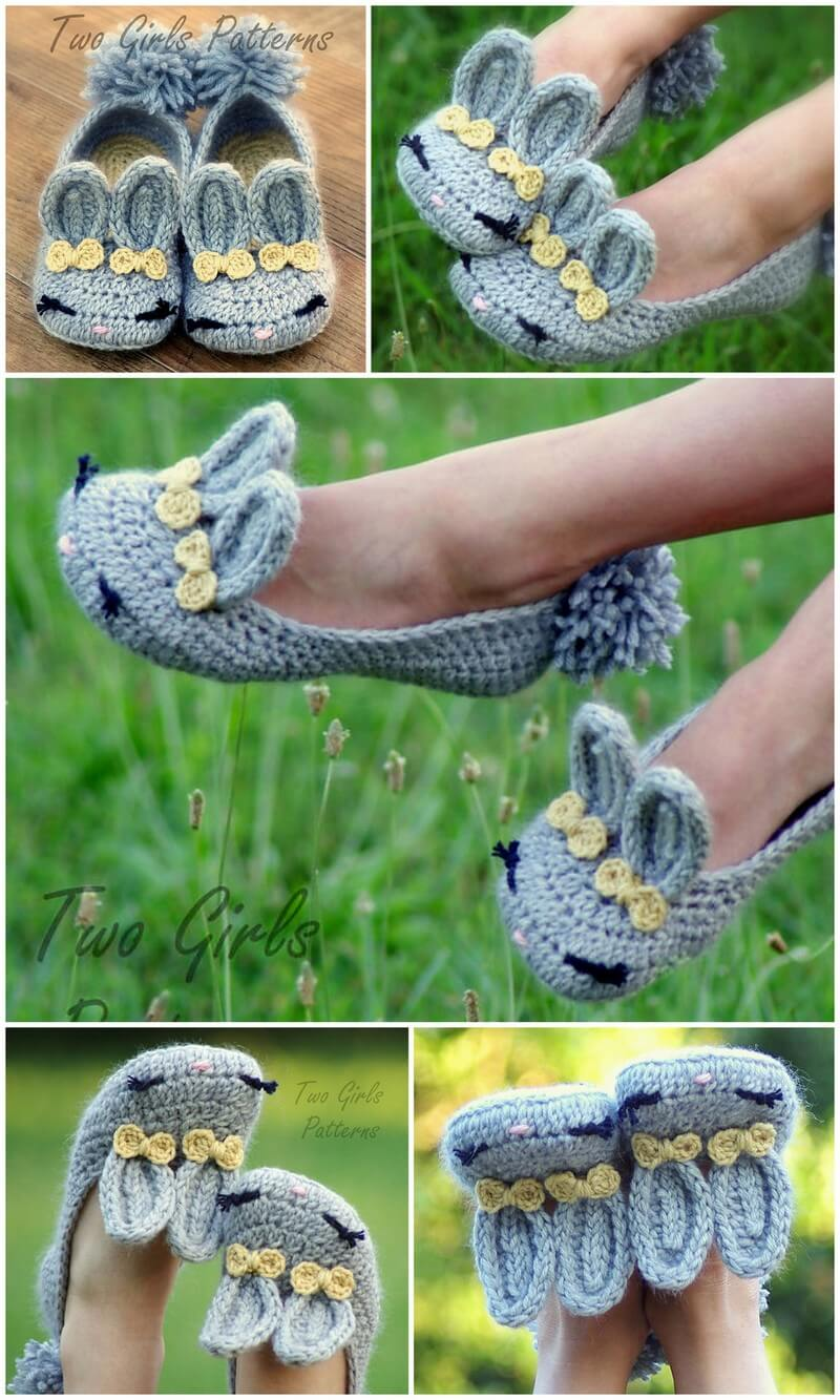 Crochet Slipper Pattern (24)