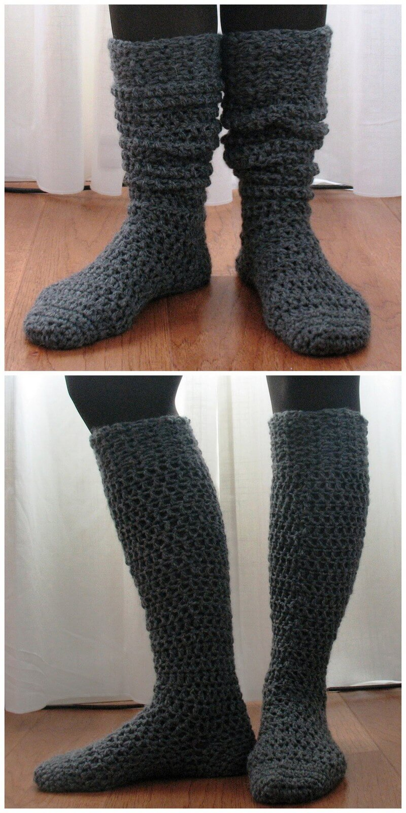 Crochet Slipper Pattern (26)