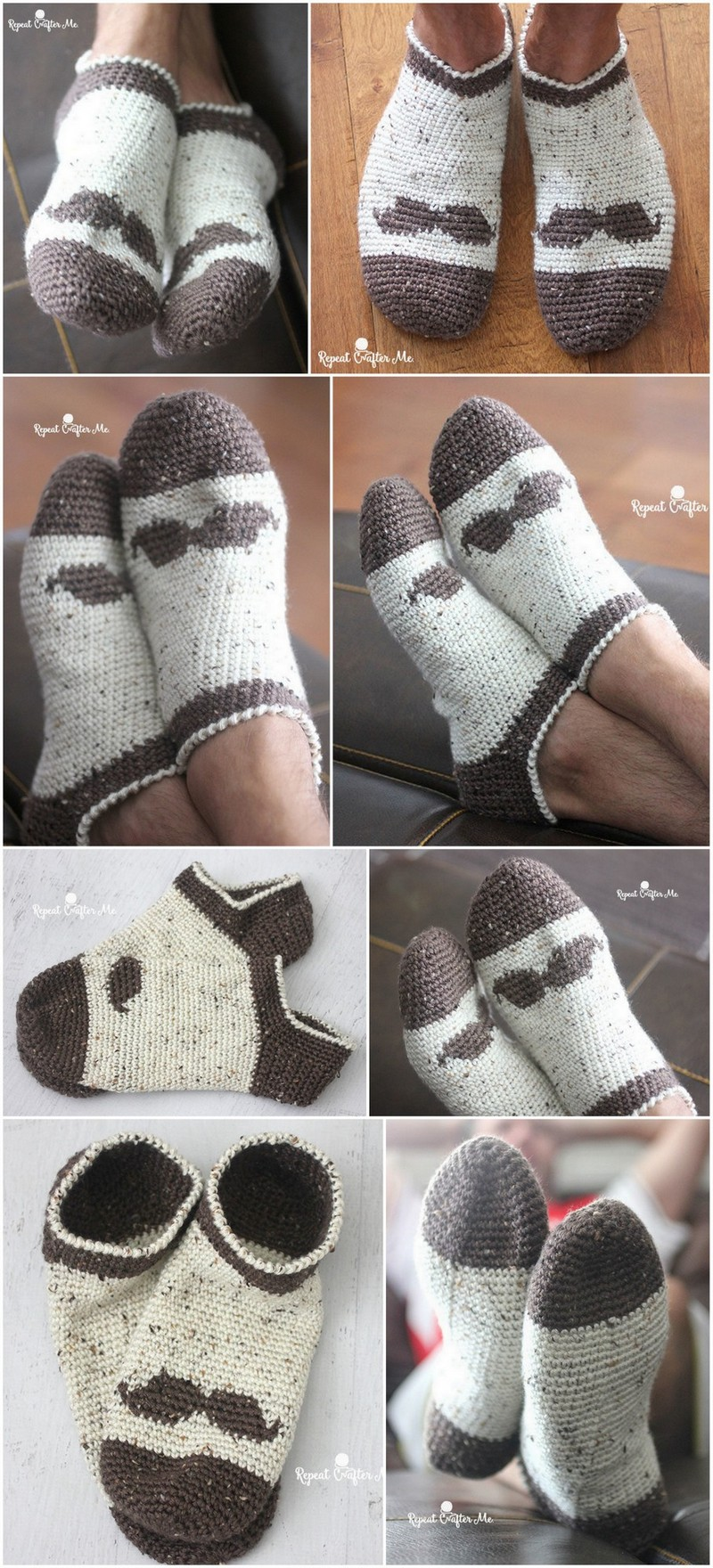 Crochet Slipper Pattern (27)