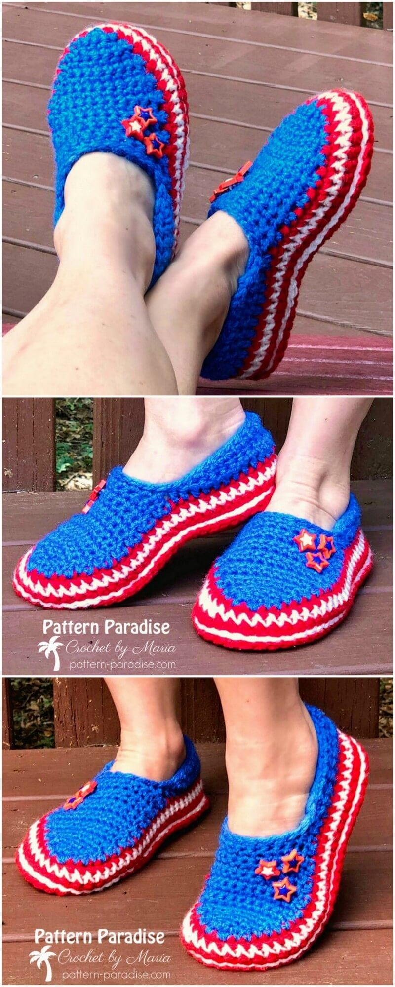 Crochet Slipper Pattern (33)