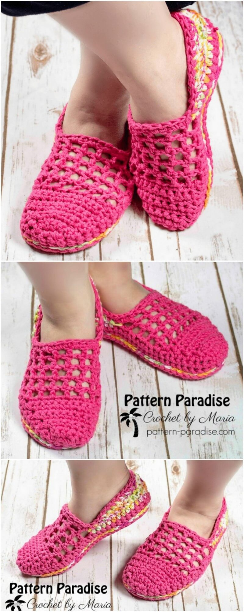 Crochet Slipper Pattern (35)