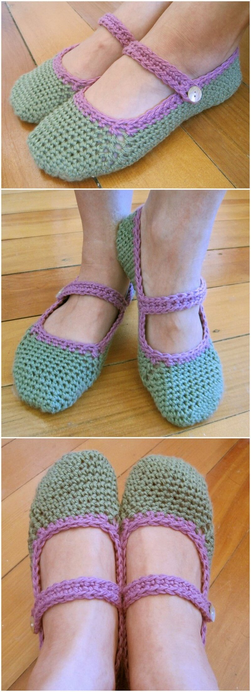Crochet Slipper Pattern (37)