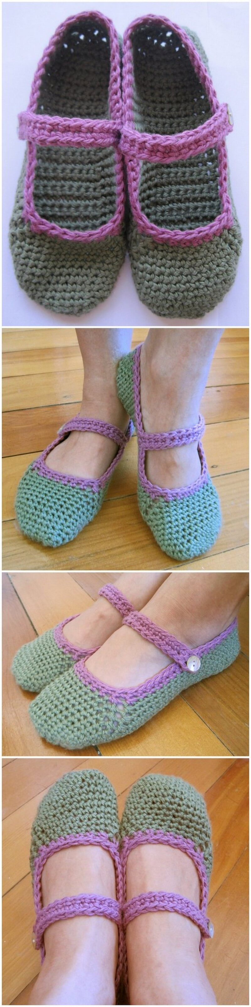 Crochet Slipper Pattern (39)