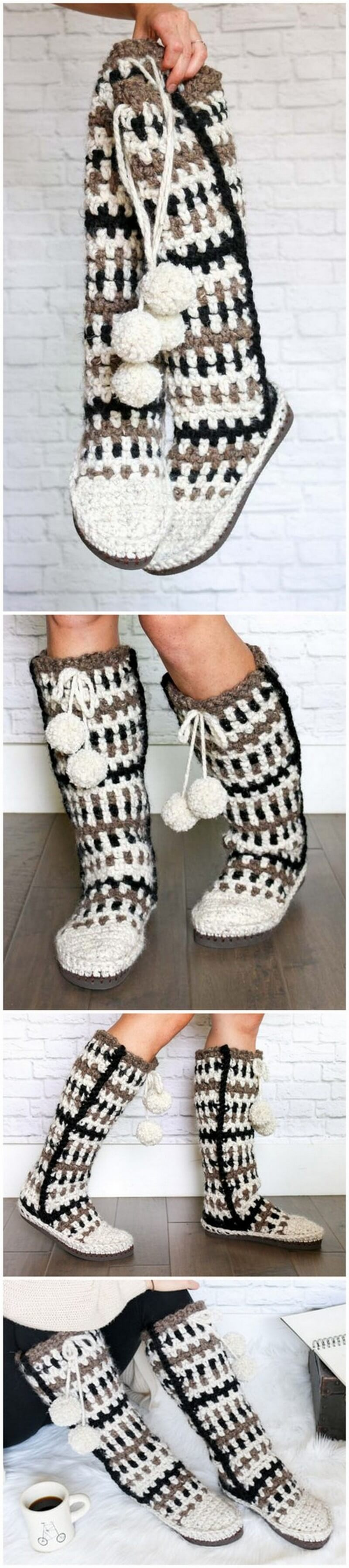 Crochet Slipper Pattern (44)